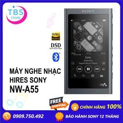 Máy nghe nhạc Hi-res Sony Walkman NW-A55 - Hàng chính hãng Sony Việt Nam - Bảo hành 12 tháng
