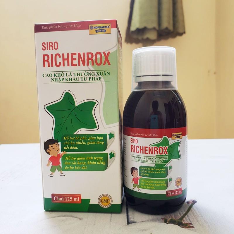 Siro RICHENROX cho bé hỗ trợ bổ phế, giảm ho khan tiếng kéo dài 100ml - RICHENROX 1