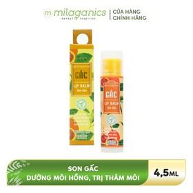 Son dưỡng môi Gấc MILAGANICS 4.5g - 8936089073104