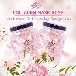 Combo 2 Lọ Mặt Nạ Yến Tươi Collagen Mask Rose