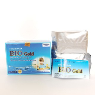 Cốm ăn ngon cho bé Bio Gold giảm tiêu chảy và táo bón bổ sung lợi khuẩn hộp 20 gói - biogold thumbnail