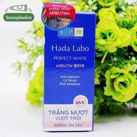 Hada Labo Perfect White Arbutin Milk – Sữa Hada Labo Trắng Hoàn Hảo - 0668