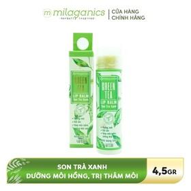 Son dưỡng môi Trà xanh MILAGANICS 4.5g - 8936089073098