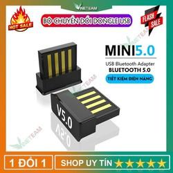 Bộ Chuyển Đổi Mini USB Bluetooth 5.0 Di Động Bộ Thu Âm Thanh Cho Pc / Laptop