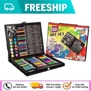 [Miễn phí vận chuyển ] Bộ bút chì màu 150 chi tiết cho bé yêu - Bộ bút chì màu 150 món cho bé yêu thumbnail