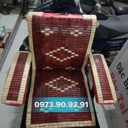chiếu trúc bọc ghế cắt tóc trải ghế cắt tóc khách ngồi cho mát