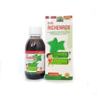Siro RICHENROX cho bé hỗ trợ bổ phế, giảm ho khan tiếng kéo dài 100ml - RICHENROX 4