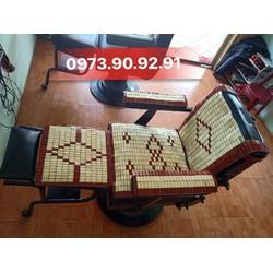 Combo các tấm chiếu trúc bọc ghế cắt tóc nam nữ bảo vệ ghế