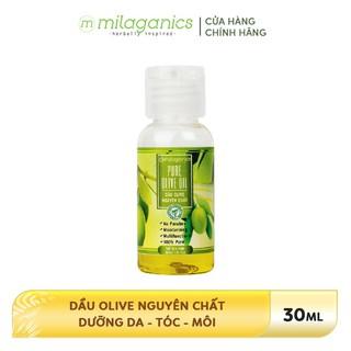 Dầu Olive 3 dưỡng Da-Tóc-Môi MILAGANICS 30ml - 8936089072947 thumbnail