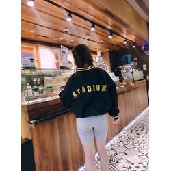 [hình thật sản phẩm] Áo Khoác Bomber Nữ STADIUM Siêu Hot