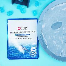 Combo 5 miếng Mặt Nạ Ampoule Tinh Chất Tổ Yến Dưỡng Ẩm Chuyên Sâu SNP - CNSNP01