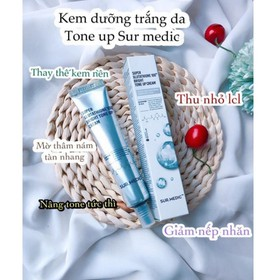 Kem Dưỡng Trắng Sáng Sur.Medic Super Glutathione 100 Bright Tone Up Cream 40ml - Sur.Medic Tone Up Cream 40ml-2