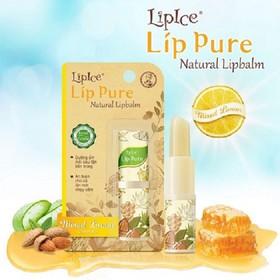 Son dưỡng chiết xuất thiên nhiên Lipice Lip Pure 4g - ahm