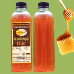 FREE SHIP- mật ong hoa cà phê daklak nguyên chất 100% - chai 1 lít- sản phẩm trực tiếp từ nông dân daklak
