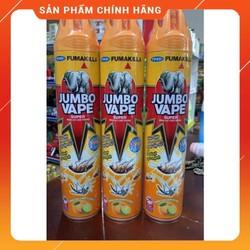 Bình Xịt Muỗi Trùng Jumbo 600Ml/300Ml Hương Cam Chanh Tự Nhiên