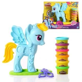 Horse little toy đồ chơi đất nặn ngựa Pony thông minh cho bé - 18207 thumbnail