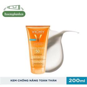 Kem chống nắng toàn thân dạng gel sữa không nhờn rít SPF 50 Chống tia UVA & UVB Vichy - 0776