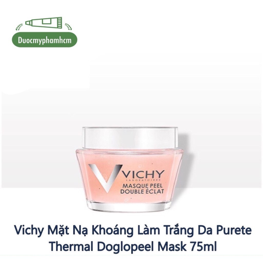Vichy Mặt Nạ Khoáng Làm Trắng Da Purete Thermal Doglopeel Mask 75ml
