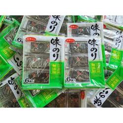 Rong biển sấy ăn liền Shirako Aji Nori Nhật Bản 30 túi - 4901673273066