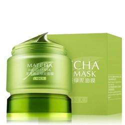 Mặt Nạ Bùn Trà Xanh Laikou Matcha Mud Mask85gr