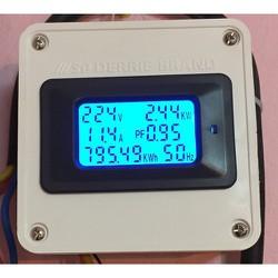 Công tơ điện tử 100A đồng hồ điện tử 6 thông số đồng hồ đo điện 100A thiết bị đo công suất