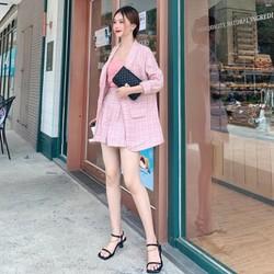Bộ vest và quần ngắn nữ