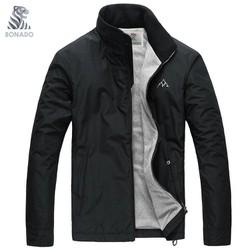 [SHOP TRỢ SHIP] Áo khoác dù nam 2 lớp cổ đứng, dáng thể thao dể mặc , phối nón độc đáo Bonado BN889