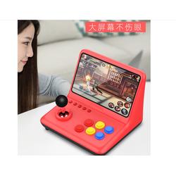 Máy chơi game Powkiddy A12 - điện tử thùng mini 9 inch - chạy Retro Arch chơi 10 hệ máy - tặng thẻ 16GB chép full game và 2 tay cầm phụ