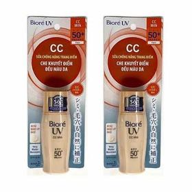 Sữa Chống Nắng trang điểm Biore UV CC Milk SPF50+/PA+++ - xdxfs