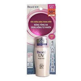 Kem Chống Nắng Biore UV Bright Milk SPF 50+ PA++++ (30ml) - cxcxs