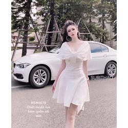 (CÓ SẴN) Đầm nữ màu trắng siêu xinh