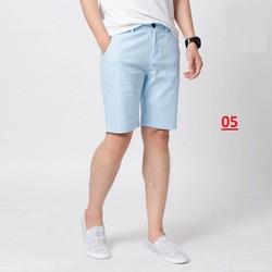 [ĐẸP VÀ MÁT] Quần shorts nam - Quần shorts đũi - Chất liệu đũi mịn mát, kiểu dáng trẻ trung, phù hợp đi làm, đi chơi