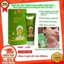 mặt nạ sáng mịn da collagen olic