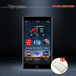 Máy Nghe Nhạc Lossless MP3 MP4 Bluetooth Màn Hình Cảm Ứng 4 inch Ruizu H1 (Hỗ Trợ Tiếng Việt) Tặng Kèm Ốp Silicon