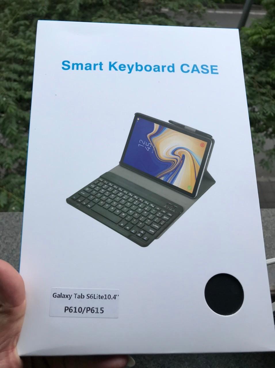 Bao da kèm bàn phím máy tính bảng samsung galaxy Tab S6 lite 10.4 inch P610/P615/Tab S7(T870/T875)/Tab S7+(T970/T975)