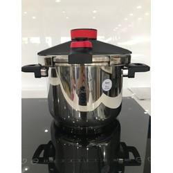 Nồi áp suất inox Catania 6L sử dụng bếp từ CTP-8112
