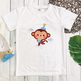 Áo thun khỉ con đáng yêu - MM085_KHI