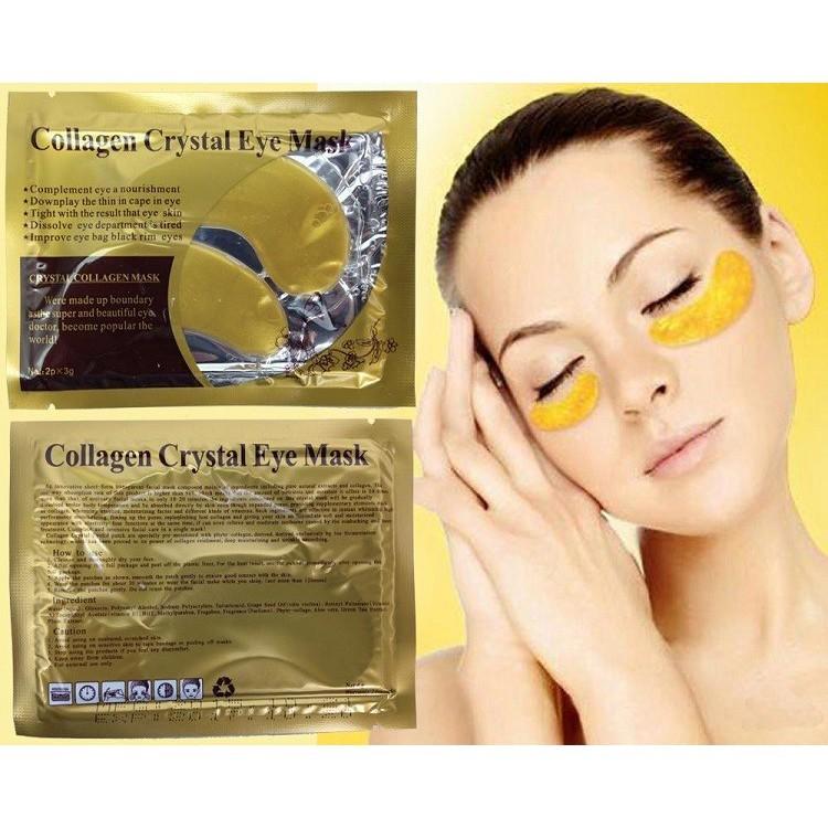 Mặt nạ mắt collagen Vàng