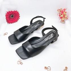 Giày sandal mẫu mới đế vuông 2cm