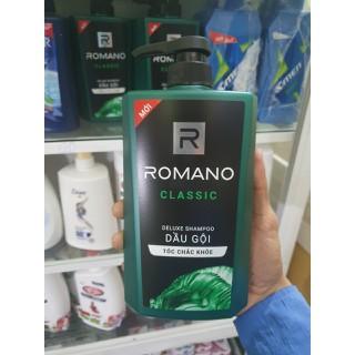 dầu gội đầu romano 650ml (chính hãng)