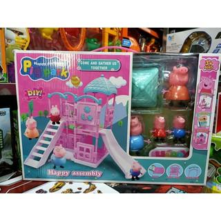 YM801-13 Pig Park - Đồ chơi khu vui chơi của những chú heo Tụ hội vui vẻ - đồ chơi heo peppa , đồ chơi nhà búp bê - 00746 thumbnail