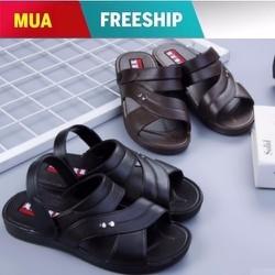 Giày Sandal nam kiểu đơn giản thời trang giá rẻ bền đẹp