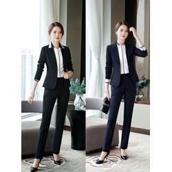 Set Nguyên Bộ Áo Vest Quần Dài thời trang Hàn Quốc size s m l xl xxl