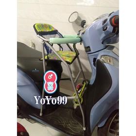 Ghế đi xe máy cho bé xe SH MODE - ghế đi xe ga Sh mode