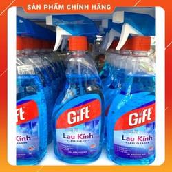 Chai Xịt Nước Lau Kính Gift 580Ml