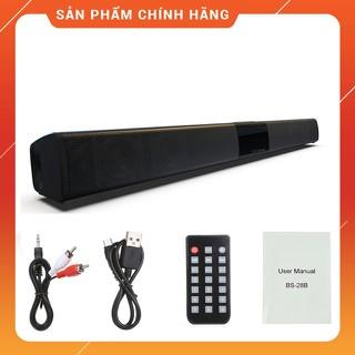 Loa Nghe Nhạc Để Bàn Loa Thanh Dài Siêu Trầm Bluetooth Gaming Soundbar BS-28B 20W Dùng Cho Máy Vi Tính PC Laptop Tivi - BS-28B thumbnail