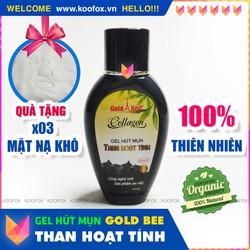 [LỘT SẠCH] Bình Gel Lột Mụn Than Hoạt Tính Gold Bee 100% thiên nhiên - Sạch Mụn, Không Rát, Không To Chân Lông - KOOFOX