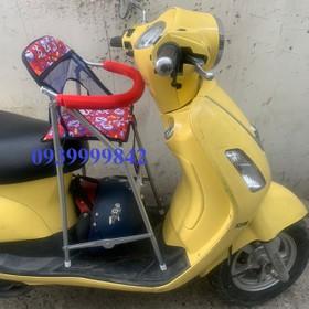 Ghế ngồi xe máy xếp gọn có vòng bảo vệ xe ATILA - ghế ngồi xe ga ATILA