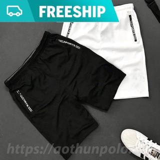 Combo 2 quần thể thao nam 2 túi kéo khoá vải thun lạnh dày đẹp - C2QTT008 thumbnail