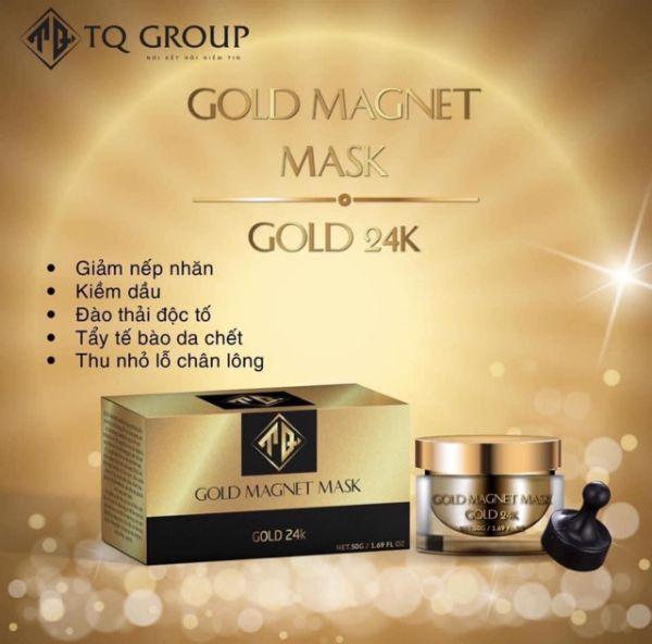 Nạ Từ Tính Gold 24K